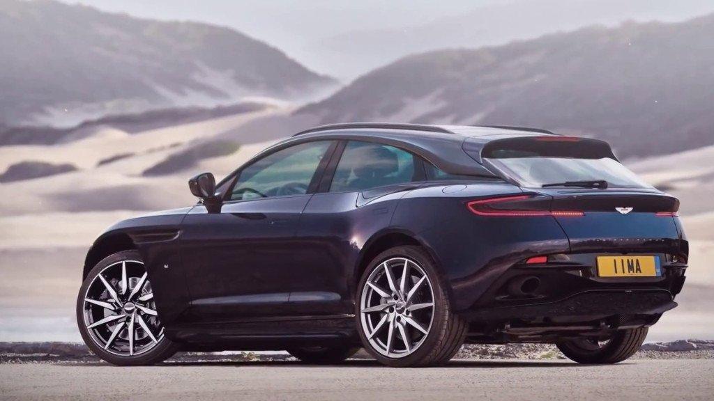 El Aston Martin DBX será presentado a finales de 2019