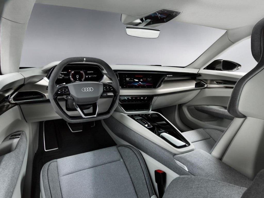 Foto Audi e-tron GT Concept - interior