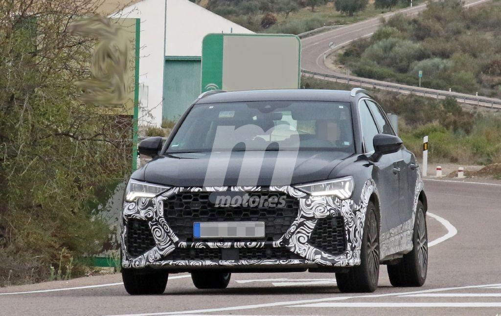 El nuevo Audi RS Q3 traslada sus pruebas a carretera pública