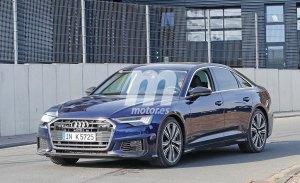 El nuevo Audi S6 2019 cazado en todo su esplendor durante unos test en circuito
