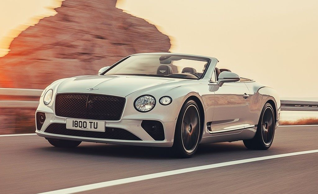 Bentley Continental GT Convertible 2019, el gran turismo se descapota