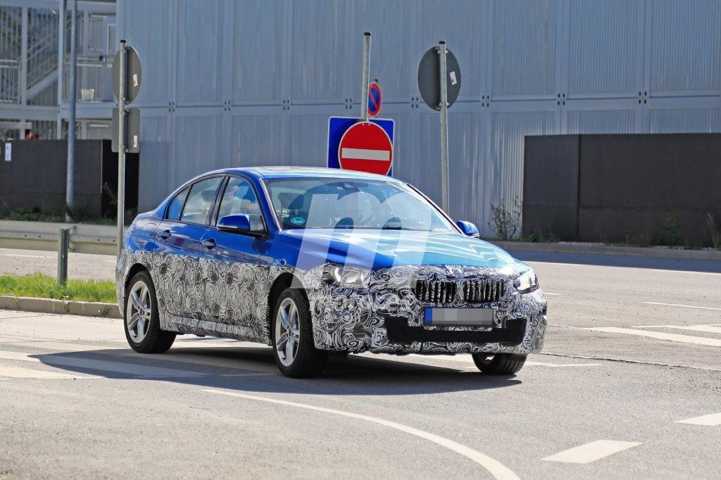 BMW comienza las pruebas para actualizar el Serie 1 Sedán