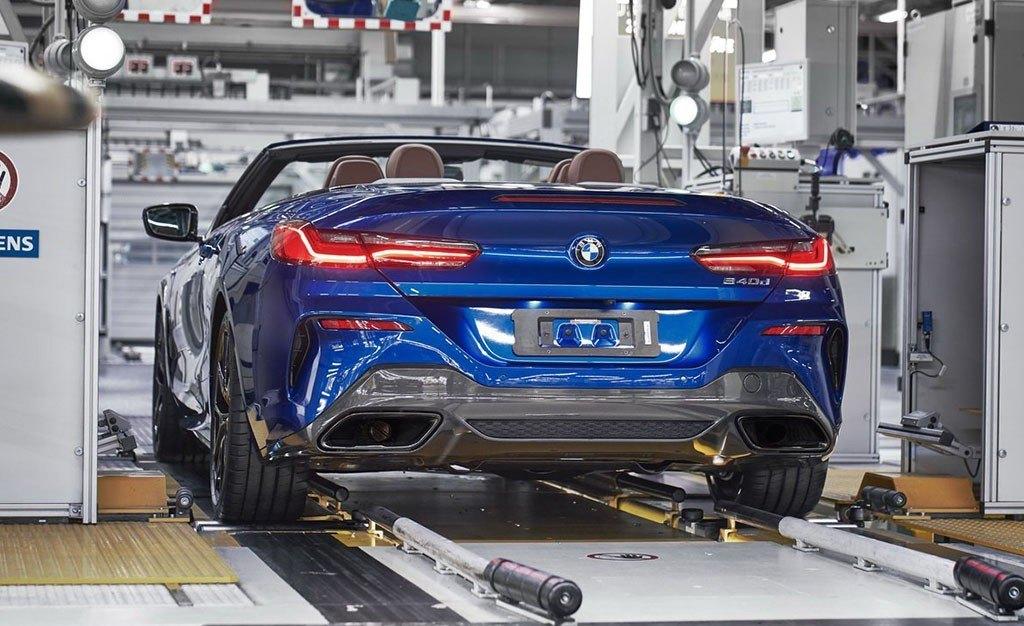 La producción del nuevo BMW Serie 8 Cabrio ya está en marcha