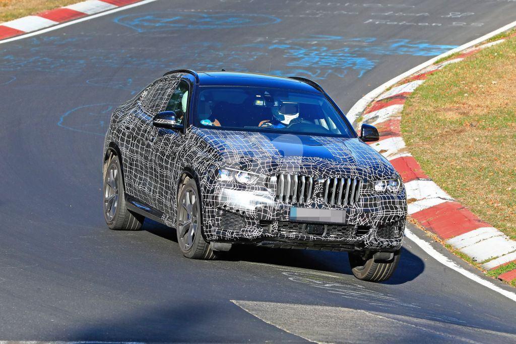 El nuevo BMW X6 ya se enfrenta al Nürburgring