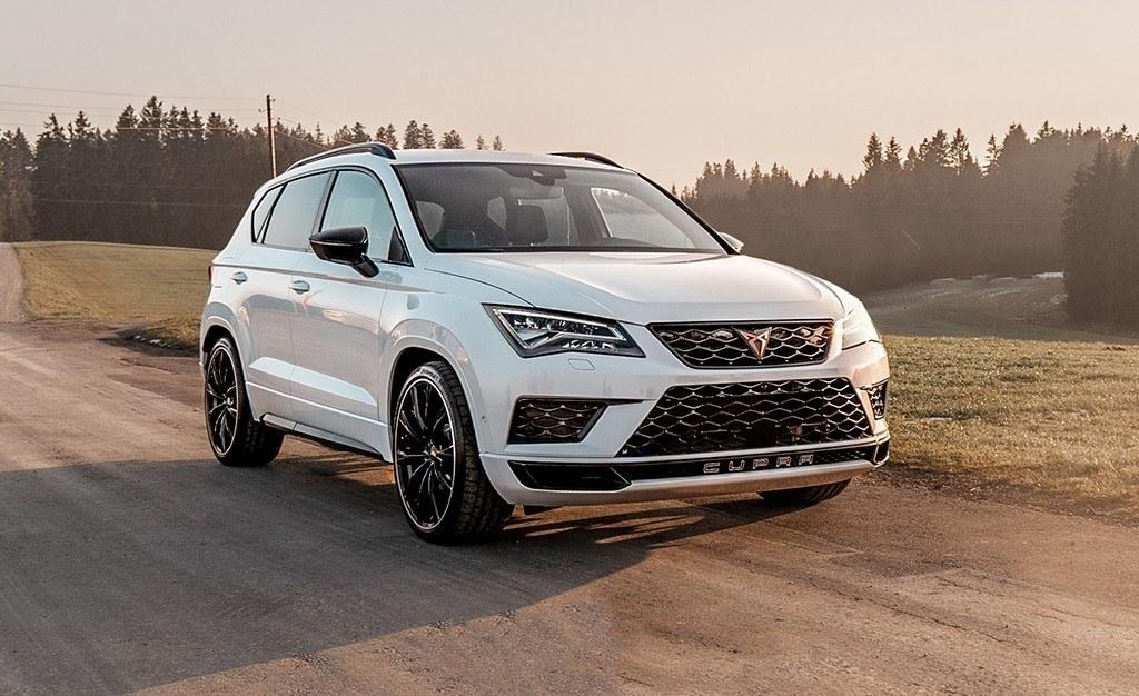 CUPRA Ateca ABT, el SUV español se vuelve más radical y alcanza los 350 CV