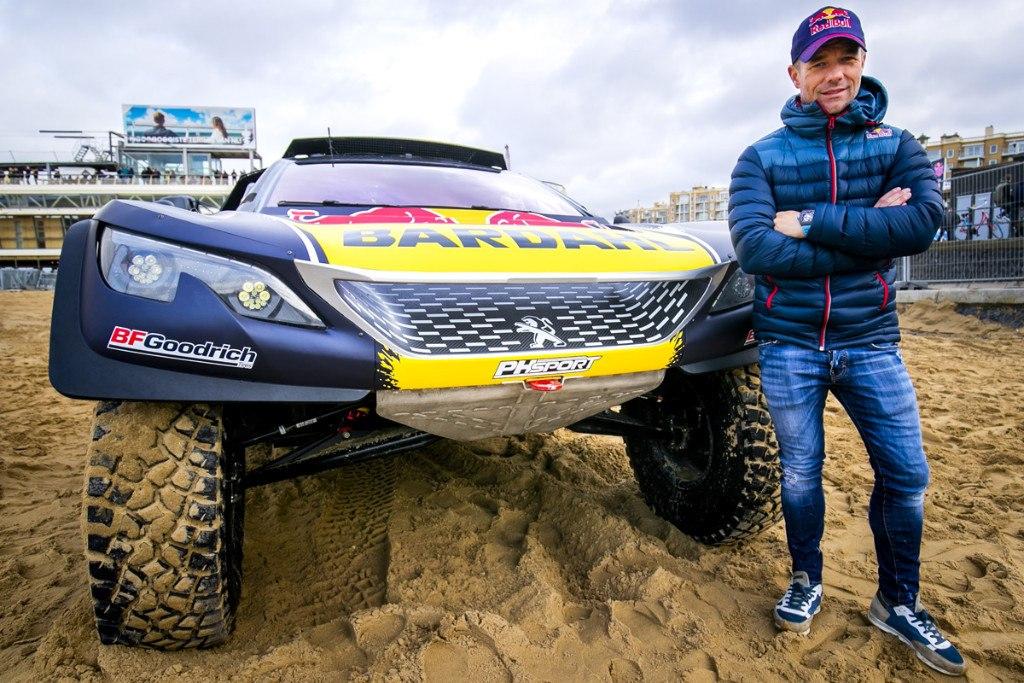 Dakar 2019: Sébastien Loeb desvela su Peugeot 3008 DKR