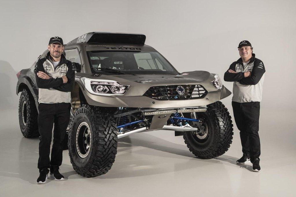 Dakar 2019: SsangYong revela el mejorado Rexton DKR