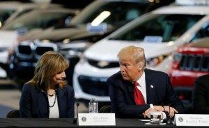 Donald Trump amenaza con cortarle los subsidios a General Motors