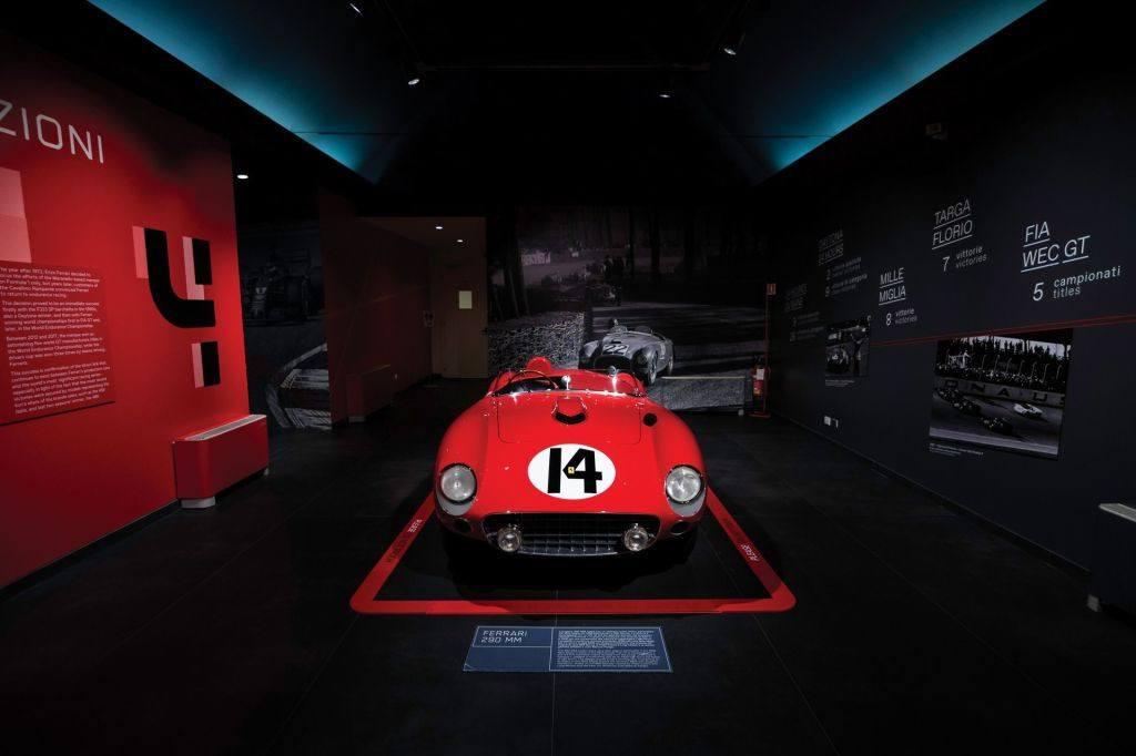 El último Ferrari 290 MM (ex Juan Manuel Fangio) a subasta
