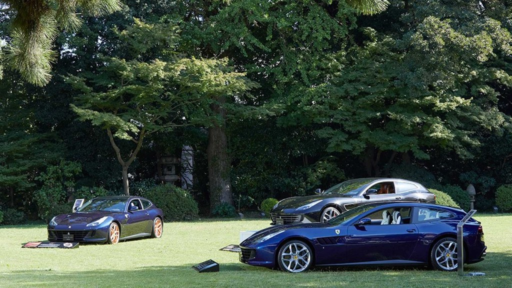 Ferrari Tailor Made presenta 9 GTC4Lusso únicos en Japón