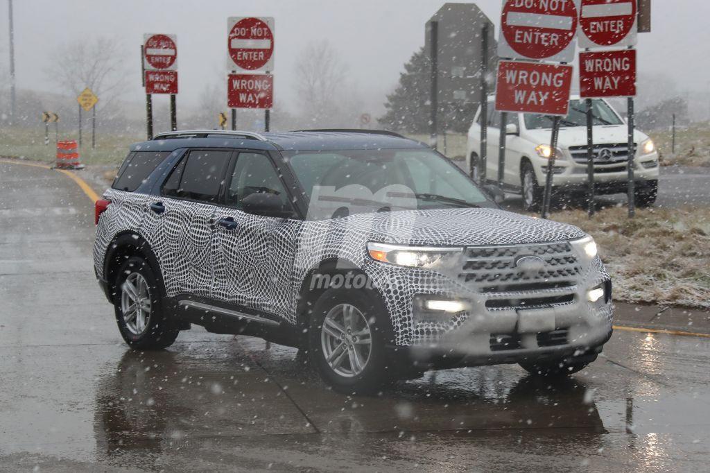El nuevo Ford Explorer 2020 nos muesta sus nuevas ópticas