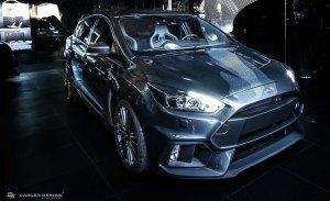 El interior del Ford Focus RS recibe una puesta a punto de Carlex Design