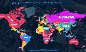 Las marcas más buscadas en Google por países en 2018