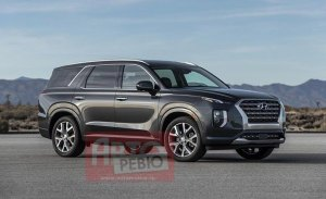 ¡Filtrado! Así es el Hyundai Palisade, un nuevo SUV de 8 plazas