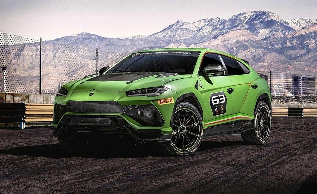 Lamborghini Urus ST-X Concept, concebido para el mundo de la competición
