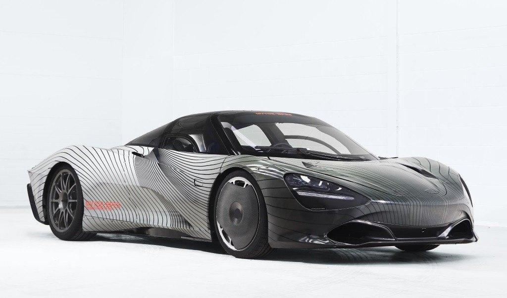 "McLaren nos presenta a ""Albert"", el primer prototipo del Speedtail"