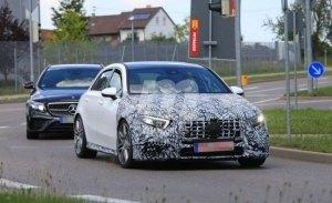 El nuevo Mercedes-AMG A 45 se enfrenta al Nürburgring