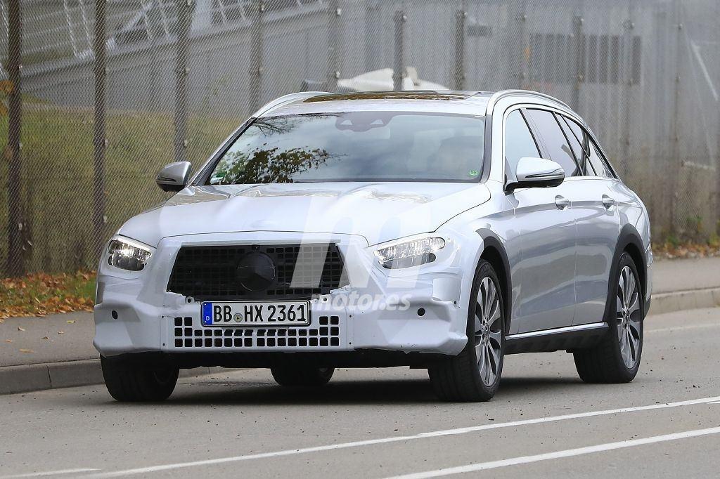 Cazado el lavado de cara del Mercedes Clase E All Terrain 2019 en Alemania