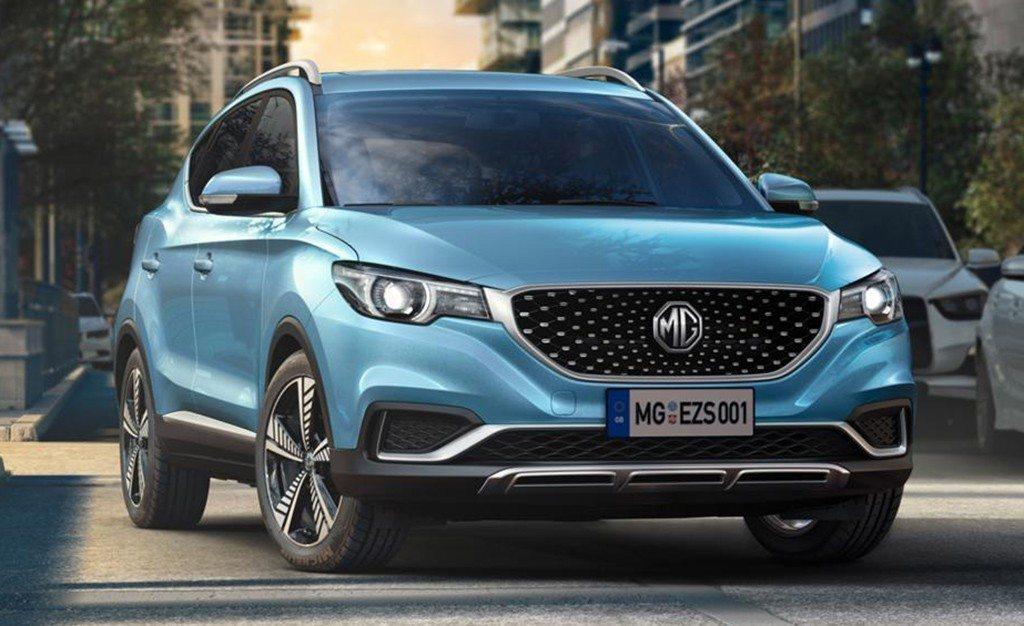 MG eZS, se presenta el primer SUV totalmente eléctrico del fabricante chino