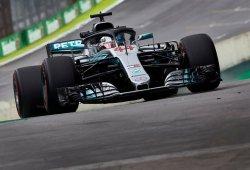 """Hamilton aspira a todo en Interlagos: """"El coche fue mucho mejor que en México"""""""