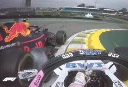 """Hamilton, a Verstappen: """"Ocon no tenía nada que perder, y tú, todo"""""""