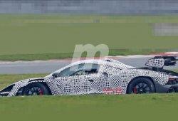 El McLaren Senna GTR cazado por primera vez durante sus pruebas