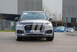 Nuevas fotos espía de la actualización del Audi Q7 muestran también su interior