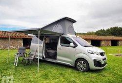 Prueba Peugeot Traveller by Tinkervan, una camper para la naturaleza y la ciudad