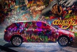 El nuevo Skoda Scala cambia su camuflaje por un graffiti