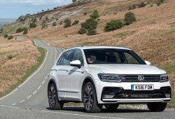 Reino Unido - Octubre 2018: El Volkswagen Tiguan destroza su récord