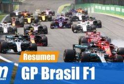 [Vídeo] Resumen del GP de Brasil de F1 2018