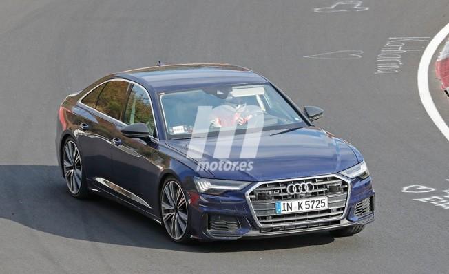 Audi S6 2019 - foto espía