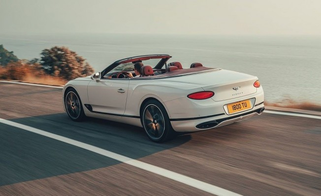 Bentley Continental GT Convertible 2019 - posterior
