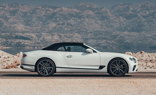 Bentley Continental GT Convertible 2019 - lateral