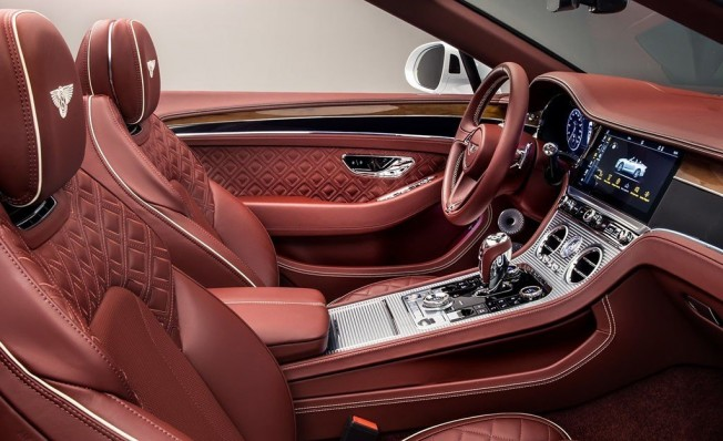 Bentley Continental GT Convertible 2019 - interior