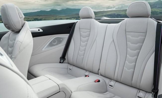 BMW Serie 8 Cabrio 2019 - interior