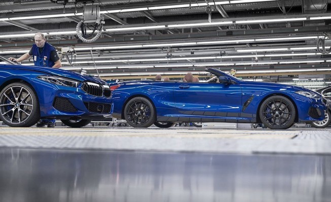 BMW Serie 8 Cabrio 2019 - producción