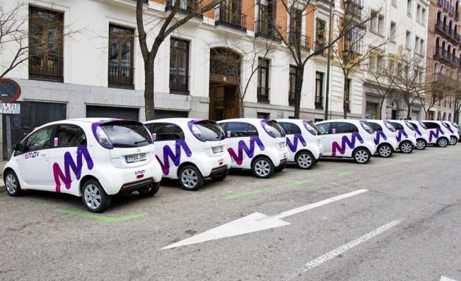 emov, el car sharing del Grupo PSA
