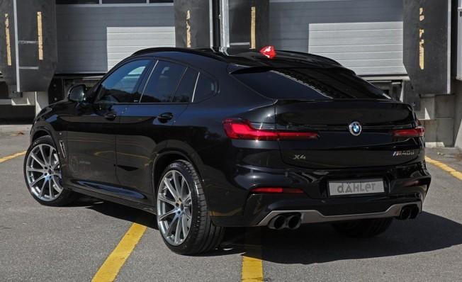 BMW X4 preparado por dÄHLer
