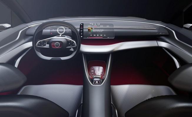 Fiat Fastback Concept - interior