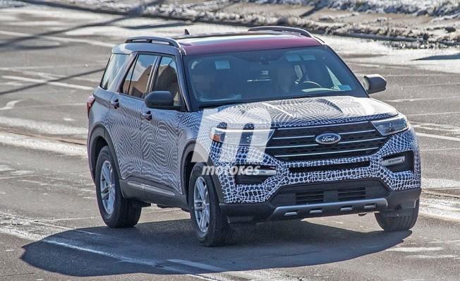 Ford Explorer 2019 - foto espía