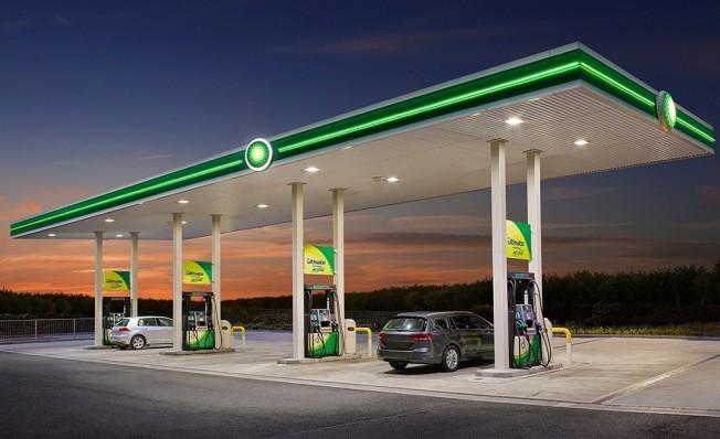 Gasolinera en España