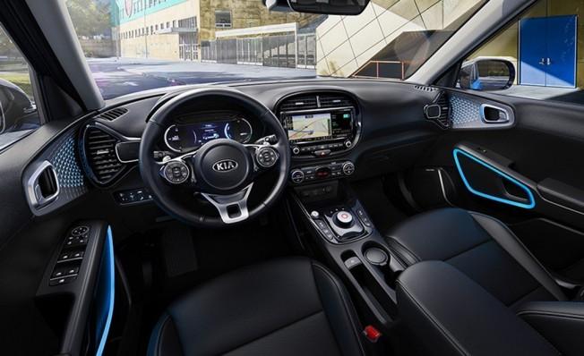 Kia Soul EV 2019 - interior