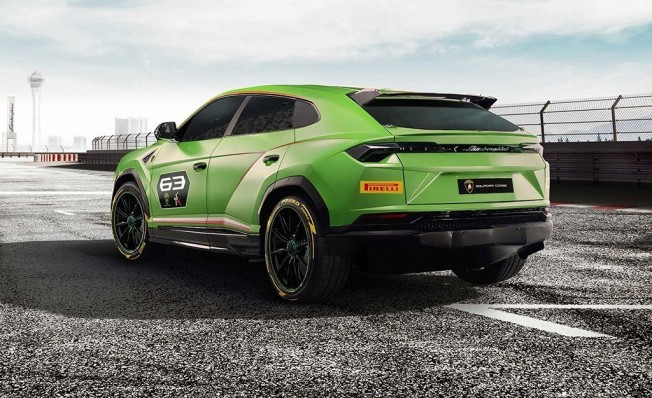Lamborghini Urus ST-X Concept - posterior