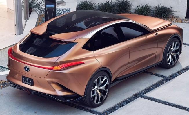 Lexus LF-1 Limitless Concept - posterior