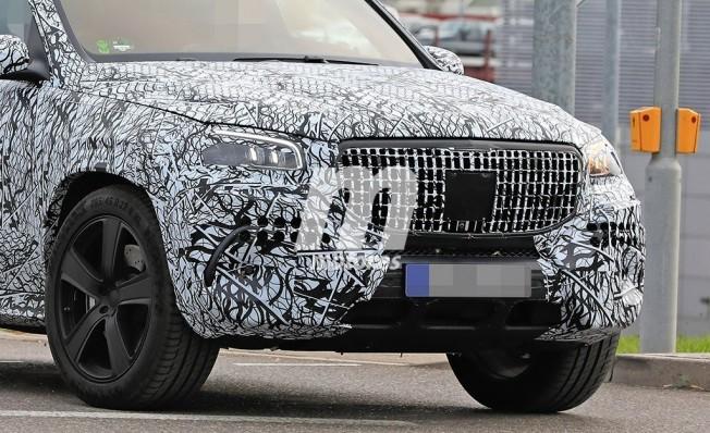 Mercedes-Maybach Clase GLS 2020 - foto espía frontal