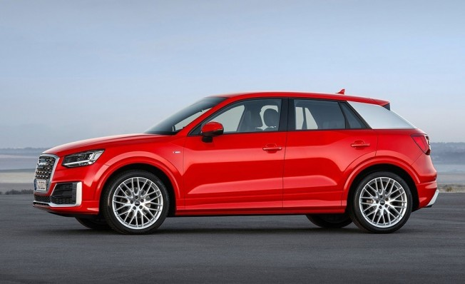 Audi Q2 - lateral