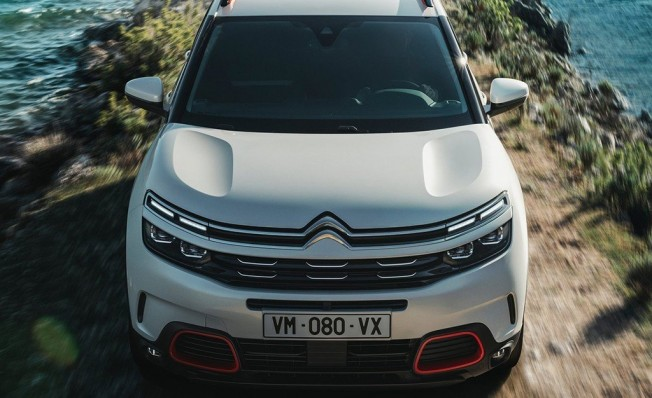 Citroën C5 Aircross - frontal