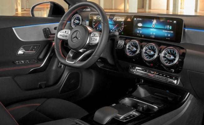 Mercedes Clase A Sedán - interior
