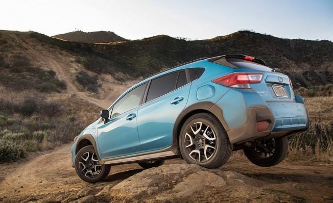 Subaru Crosstrek Hybrid 2019 - posterior